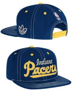 14301dfaf14  Pacers Cursive Logo SB Hat -  26.17 Indiana Pacers cursive logo sb hat  from adidas