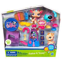 "Littlest Pet Shop Playset - Sunshine & Travels - Hasbro - Toys ""R"" Us - she would LOVE LOVE LOVE  a giraffe LPS doll PURCHASED"