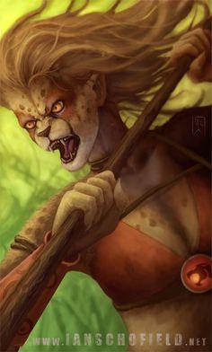 Thundercats - Cheetara by IanSchofield on deviantART
