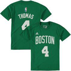 1d1e177d9 Isaiah Thomas Boston Celtics Game Time Flat Name   Number T-Shirt - Green