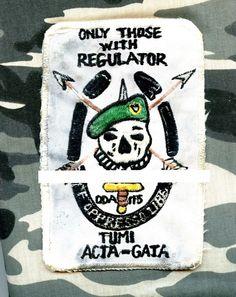 USA Special Forces Operational Detachment A-115, Co A, 1 Battalion,1 SFGp SFG-55