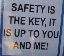 Safe dating slogan