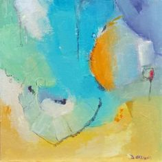 "Saatchi Art Artist Dorothy Gaziano; Painting, ""a little bit of this"" #art"