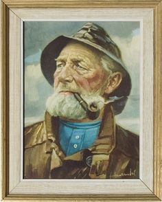 fisherman -- fiskare -- fiskargubbe ~ gubbe = old man, fellow