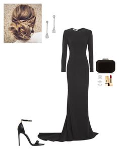"""""""Evening out"""" by cgraham1 on Polyvore featuring STELLA McCARTNEY, Tom Ford, Jimmy Choo, Messika and Yves Saint Laurent"""