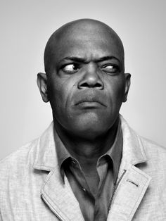 Samuel L Jackson // a very tough, bad ass, black actor. More on the rough n tough, ghetto side of the African Americans, but he speaks his mind and is respected for it. He always plays a strong Black roll in movies.