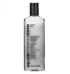 Sephora: Peter Thomas Roth : Glycolic Acid 3 percent Facial Wash : face-wash-facial-cleanser Very low concentration but using in conjecture with my other makeup-removing face wash here and there I think this could help with acne blemishes. Skin Care Clinic, Peter Thomas Roth, Unclog Pores, Alpha Hydroxy Acid, Glycolic Acid, Lactic Acid, Facial Wash, Body Treatments, Facial Cleanser