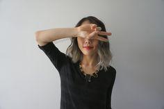 grey ombre short hair - Google-søgning