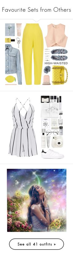 """""""💜 Favourite Sets from Others 💜"""" by tegan-nottle ❤ liked on Polyvore featuring J Brand, Aéropostale, Lauren B. Beauty, Finders Keepers, Delpozo, ASOS, Monsoon, Chanel, Carven and Paul Smith"""