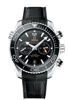 Omega Seamaster Planet Ocean 600M Chronograph - its transparent caseback offers a great view of the super-modern, antimagnetic in-house movement. The use of fully antimagnetic components makes a soft iron inner case unnecessary. Read more at WatchTime.com