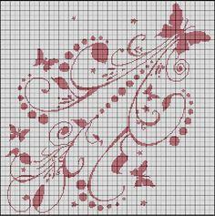 Envol_e_de_papillons  many free embroidery/ cross stitch patterns.