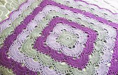 How to make a Crochet Infant blanket