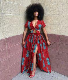 Items similar to African Clothing/ Ankara Print/ Ankara Dress/ Ankara Maxi skirt/ African Print on Etsy - african fashion African Fashion Skirts, African Prom Dresses, African Inspired Fashion, African Print Fashion, Fashion Prints, Africa Fashion, Ankara Fashion, African Prints, African Fabric