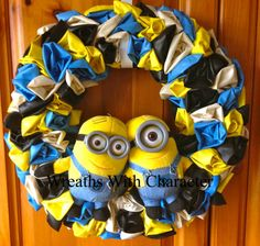 Despicable Me Minions 12 Balloon Party by WreathsWithCharacter