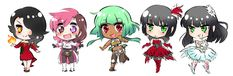 Image result for chibi rwby