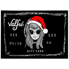 Gift Card - A perfect gift for your girl friend, BFF, or family member | Valfré #ValfreWishList