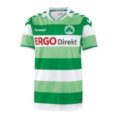Hummel SpVgg Greuther Fürth Trikot Home 2015/2016 Fanartikel Trikot Bundesliga DFB DFL 2015 2016 Kleeblatt