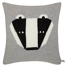 Donna Wilson Badger Cushion Online. The 5yr old loves these.
