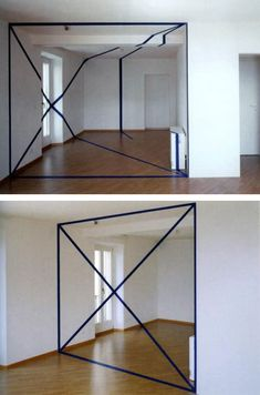 Anamorphosis is a distorted projection or perspective requiring the viewer to use a specific vantage point to reconstitute the image. This is an artistic technique that dates back to the early Renaissance.
