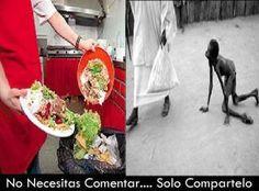 Ojo al desperdicio de alimentos #comparte #viveECO