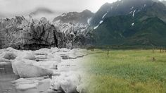 Comparative photographs show our planet in a constant state of change, from natural as well as human activities.