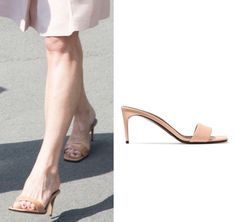 Heel measures approximately 3 inches Antique-rose faux leather Slip on Designer color: Tea Rose Come with dust bag Made in Italy Leather Mules, Leather Slip Ons, Pippa Middleton Style, Antique Roses, Royal Style, Royal Fashion, Bag Making, Stella Mccartney, Queen