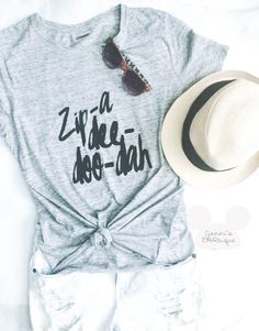 TMy Style Zip-a-dee-doo-dah Disney Graphic Relaxed TEE/ Song of the South by JennisEARtique on Etsy Disney World Outfits, Disneyland Outfits, Disneyland Trip, Disney Trips, Disney World Trip, Disney Fashion, Women's Fashion, Disney Mode, Disney T-shirts