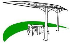 Image result for steel pergola design