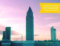 Frankfurter Buchmesse Vorbereitungen