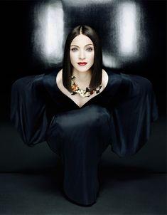 madonna by patrick demarchelier (Frozen Madonna was my favorite Madonna)