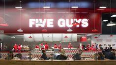 Five Guys - Covent Garden or Islington