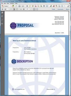 Product Cost Savings Sales Sample Proposal  Create Your Own