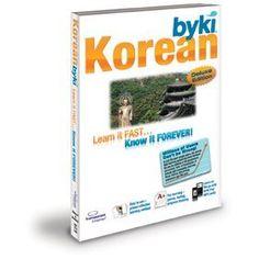 Byki Korean Language Tutor Software  Audio Learning CDROM for Windows  Mac -- AMAZON Great Sale