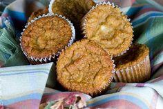 Grain free, sugar free & Gluten Free Cinnamon Apple Muffins