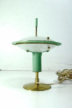 abat-Jour anni 50' Lampada/50's light/mid century table lights/Arredoluce H
