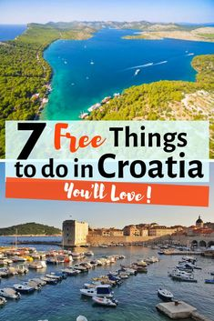 Looking for travel to Croatia on a budget? Here you have the best free things to do in Croatia including things to do in Dubrovnik Split Pula Zadar and more. There are lots of things to do in Croatia for free! Croatia Itinerary, Croatia Travel Guide, Europe Travel Guide, Spain Travel, Travel Guides, Travel Destinations, Budget Travel, Travel Vlog, Travelling Tips