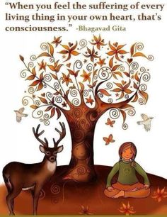 Quote from the Bhagavad Gita. Animal rights. Meditation, Gita Quotes, Hindu Quotes, Vegan Quotes, Why Vegan, Bhagavad Gita, Wow Art, Animal Welfare, Vegan Lifestyle