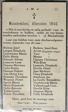Allerzielen 1940