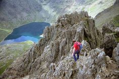 Crib Goch, not for the faint hearted!