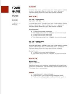 Advice From A Corporate Hr Leader On The OnePage Resume Rule He