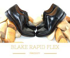 Blake Rapid Flex: Derby and Oxford by #franceschetti #franceschettishoes #madeinitaly  #menshoes #luxuryshoes