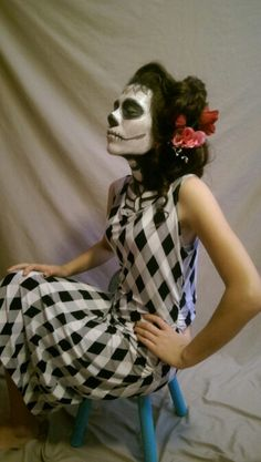 Day of the Dead photo shoot. Reyna. 2015.