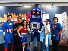 NEC, EMIStream Super Heroes