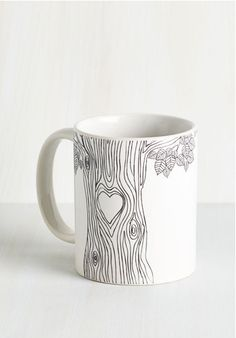 "sweet coffee mug, awww...  Reminds me of ""the giving tree"""