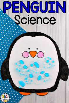 Have you ever wondered how penguins stay warm and dry in frigid waters of Antarctica? This fun and easy Penguin Science Experiment will show your students how the flightless birds stay dry in the cold temperatures and icy waters. This FREE Penguin Science Preschool Science Activities, Science Crafts, Animal Science, Science Experiments Kids, Science Lessons, Science For Kids, Science Penguin, Science Art, Ideas