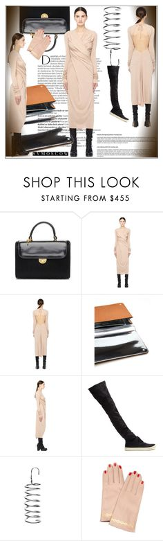 """""""SVMOSCOW.COM  13"""" by k-lole ❤ liked on Polyvore featuring Balmain, Maison Margiela, Rick Owens Lilies, Rick Owens and Undercover"""