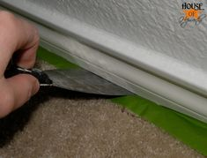 Tip for painting baseboards