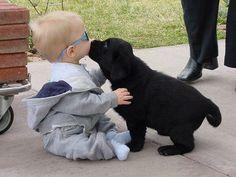 Puppy kisses!