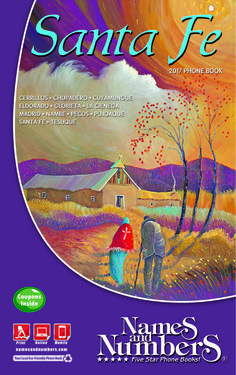 SANTA FE (New Mexico) 2017 Phone Book | Visit santafe.namesandnumbers.com to search for local business and residential information in Santa Fe (NM) and the surrounding area.