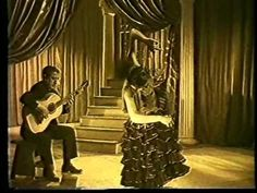 """DOLORES VARGAS """"LA TERREMOTO"""" y MELCHOR DE MARCHENA flamenco bailando"""